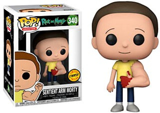Funko Rick & Morty POP! Animation Sentient Arm Morty Vinyl Figure #340 [Chase Version, Bloody Arm]