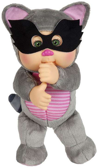 Cabbage Patch Kids Cuties Forest Friends Rusty Raccoon 9-Inch Plush #36