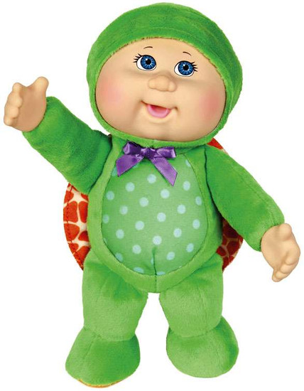 Cabbage Patch Kids Cuties Forest Friends Perry Turtle 9-Inch Plush #35