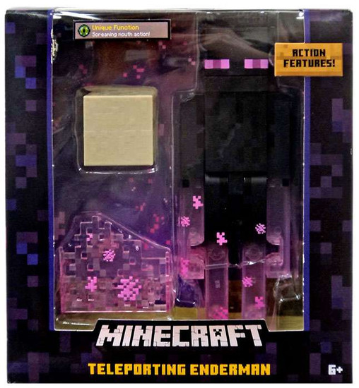 Minecraft Teleporting Enderman Action Figure