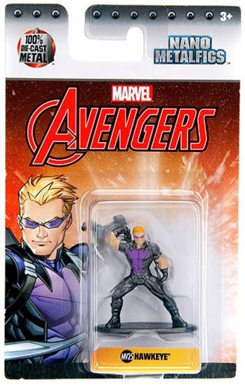 Marvel Avengers Nano Metalfigs Hawkeye 1.5-Inch Diecast Figure MV25