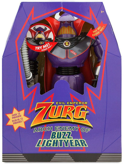 Disney Toy Story Evil Emperor Zurg Exclusive Talking Action Figure [Arch Enemy of Buzz Lightyear]
