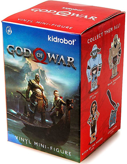 Mini Series God of War 3-Inch Mystery Pack