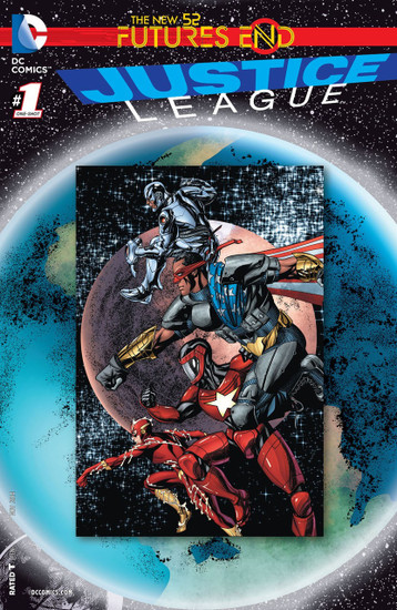 DC The New 52 Futures End Justice League Comic Book [One-Shot, Lenticular Cover]