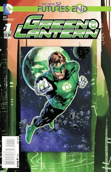 DC The New 52 Futures End Green Lantern Comic Book [One-Shot, Lenticular Cover]