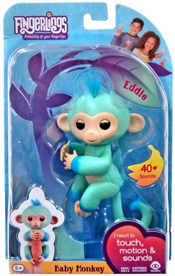 Fingerlings Baby Monkey Eddie Figure