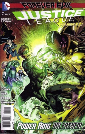 DC The New 52 Justice League #26 Forever Evil Comic Book