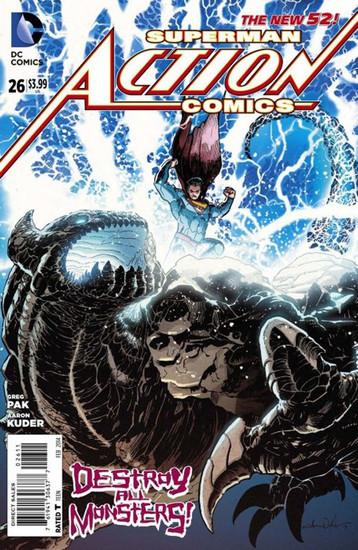 DC The New 52 Action Comics #26 Superman Comic Book