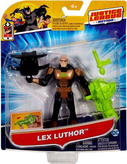 """Justice League Action JLA Power Connects Lex Luthor Action Figure [4.5""""]"""