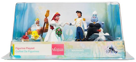 Disney The Little Mermaid Exclusive 7-Piece PVC Figure Set