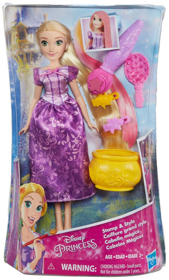 Disney Princess Tangled Stamp & Style Rapunzel Doll