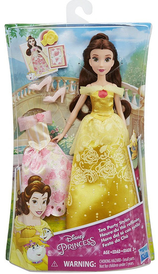 Disney Princess Beauty and the Beast Belle with Extra Fashion Doll