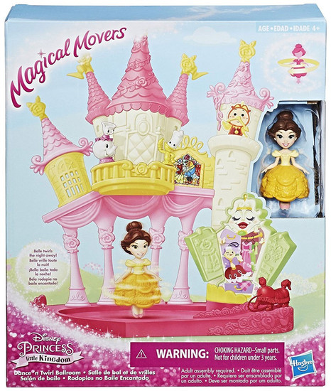 Disney Princess Little Kingdom Magical Movers Dance & Twirl Ballroom Belle Playset
