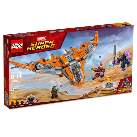 LEGO Marvel Super Heroes Avengers Infinity War Thanos' Ultimate Battle Set #76107