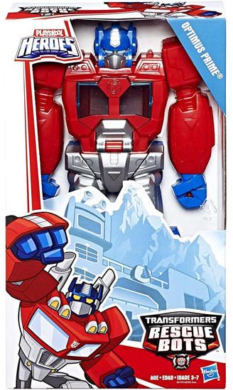 "Transformers Playskool Heroes Rescue Bots Optimus Prime 11"" Action Figure [Epic Series]"