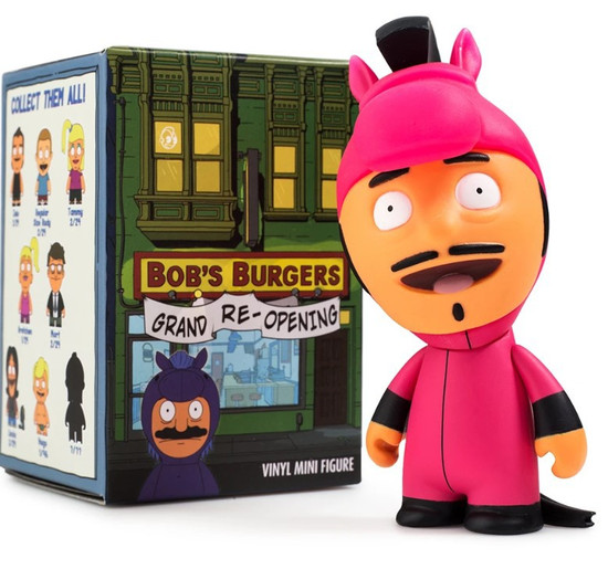 Bob's Burgers Vinyl Mini Figure Series 2 (Grand Re-Opening) 3-Inch Mystery Pack [1 RANDOM Figure]