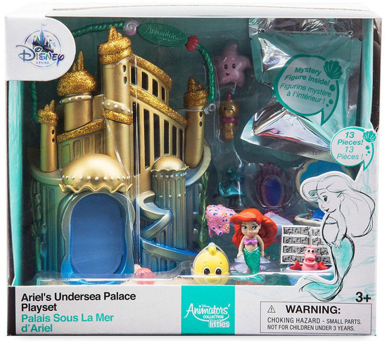 Disney The Little Mermaid Littles Animators' Collection Ariel's Undersea Palace Exclusive Micro Playset [2017]