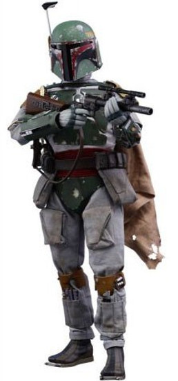 Star Wars The Empire Strikes Back Movie Masterpiece Boba Fett Collectible Figure [Regular Version]