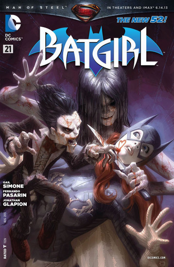 DC The New 52 Batgirl #21 Comic Book