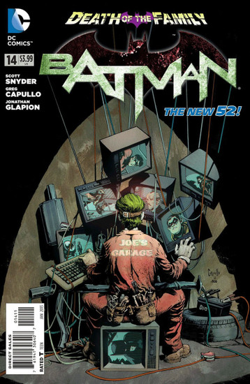 DC The New 52 Batman #14 Death of The Family Comic Book
