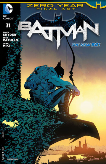 DC The New 52 Batman #31 Zero Year Comic Book