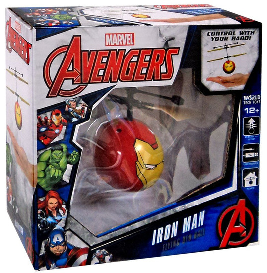 Marvel Avengers Iron Man Flying UFO Ball