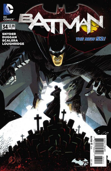 DC The New 52 Batman #34 Comic Book