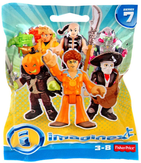 Fisher Price Imaginext Series 7 Collectible Figure Mystery Pack