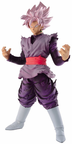Dragon Ball Super Blood of Saiyans Goku Black Super Saiyan Rose 7.1-Inch Collectible PVC Figure