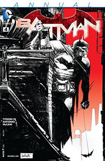 DC Batman Annual #4 Comic Book