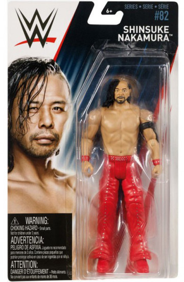 WWE Wrestling Series 82 Shinsuke Nakamura Action Figure