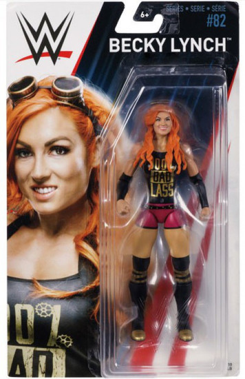 WWE Wrestling Series 82 Becky Lynch Action Figure