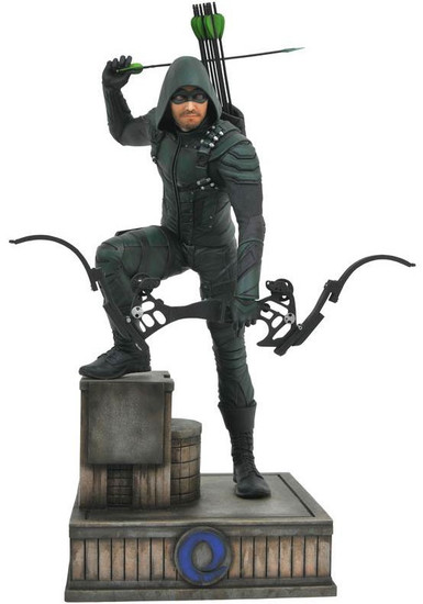 DC CW TV Series Gallery Arrow 9-Inch Collectible PVC Statue