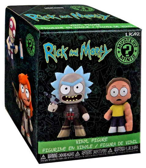 Funko Mystery Minis Rick & Morty Series 2 Mystery Pack