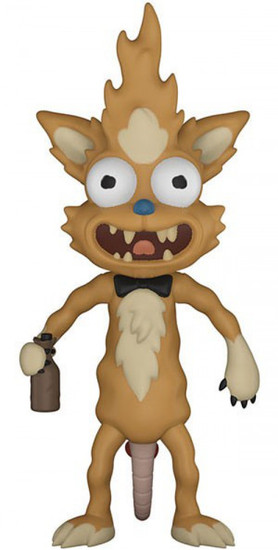 Funko Rick & Morty Squanchy with Boots Action Figure [Build Krombopulos Michael Part]