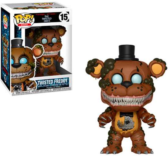 Funko Five Nights at Freddy's The Twisted Games POP! Games Twisted Freddy Vinyl Figure #15