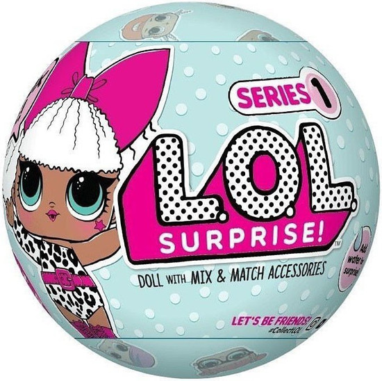 LOL Surprise Series 1 Big Sister Mystery Pack [Leopard Top, 2nd Edition]