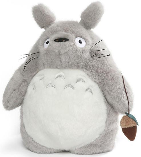Studio Ghibli My Neighbor Totoro Gray Totoro 15.5-Inch Plush Backpack