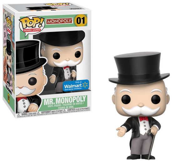 Funko POP! Board Games Mr. Monopoly Exclusive Vinyl Figure [Rich Uncle Pennybags]