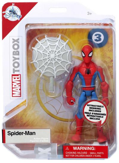 Disney Marvel Toybox Spider-Man Exclusive Action Figure [Red & Blue]