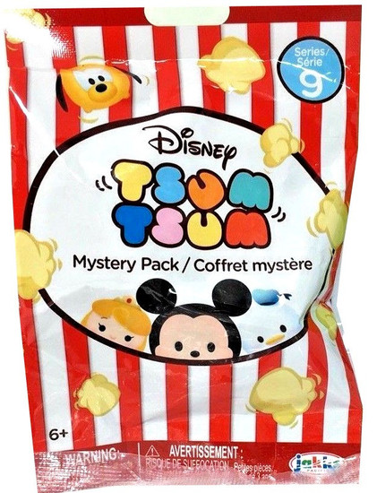 Disney Tsum Tsum Series 9 Mystery Stack Pack [1 RANDOM Figure]