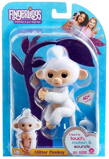 Fingerlings Glitter Monkey Sugar Figure