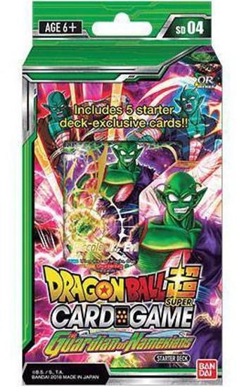 Dragon Ball Super Collectible Card Game Series 4 Guardian of Namekian Starter Deck DBS-SD04 [Green]