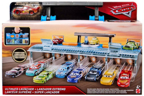 Disney / Pixar Cars Ultimate Launcher Playset [Includes Lightning McQueen]