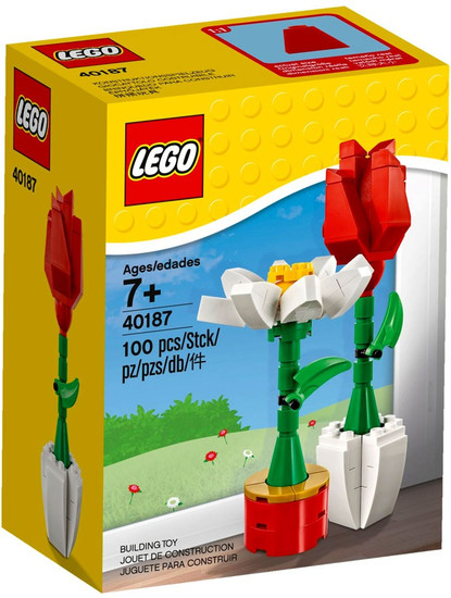 LEGO Flower Display Set #40187