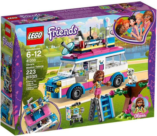 LEGO Friends Olivia's Mission Vehicle Set #41333