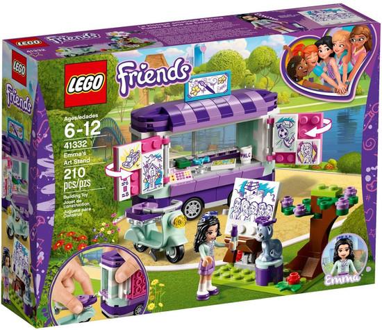 LEGO Friends Emma's Art Stand Set #41332