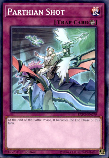 YuGiOh Extreme Force Common Parthian Shot EXFO-EN079