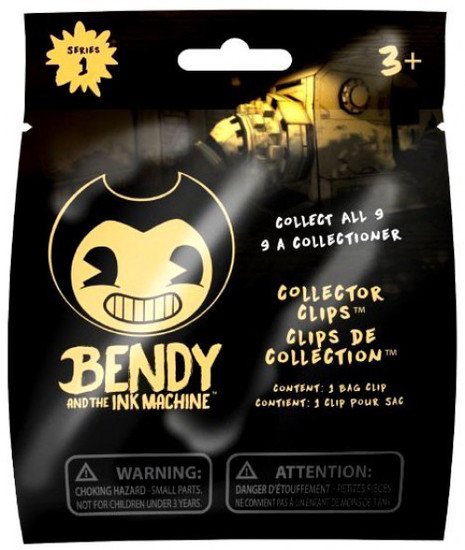 Bendy and the Ink Machine Series 1 Collector Clips Mystery Pack