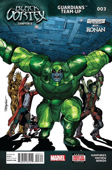 Marvel Comics Black Vortex #3 Guardians of the Galaxy Team-Up Comic Book